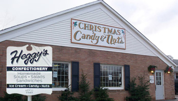 Heggy's Candy Store in Alliance, Ohio