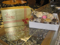 Heggy's Milk Chocolates, Dark Chocolates, and Caramels